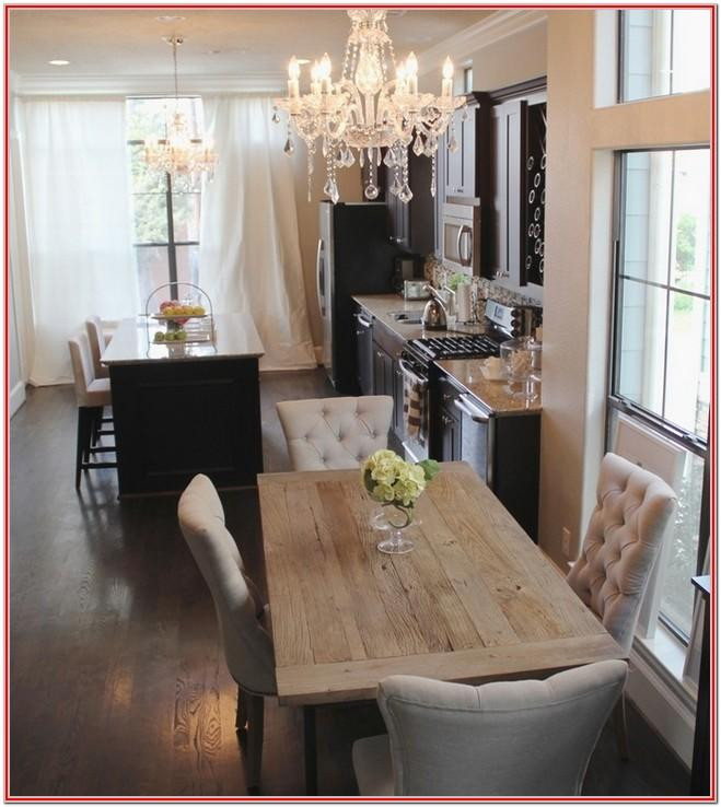 Rustic Living Dining Room Decorating