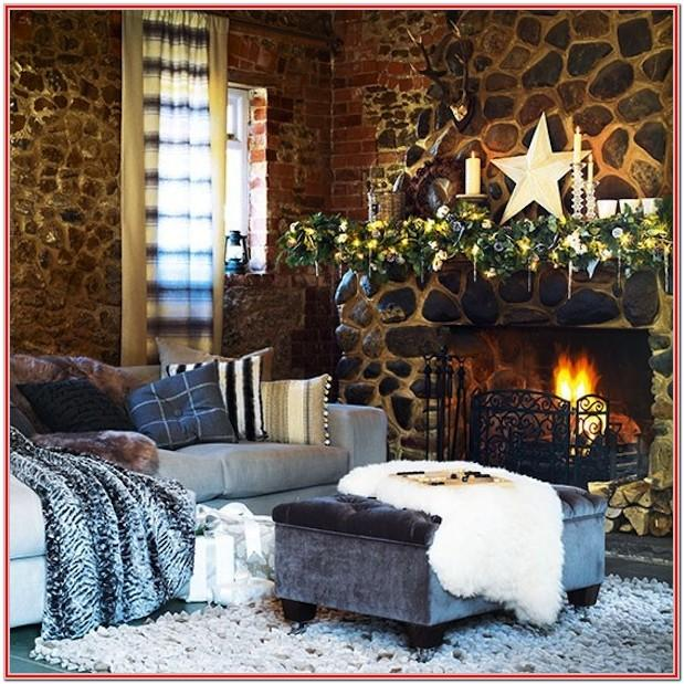 Simple Decorations For Living Room For Christmas