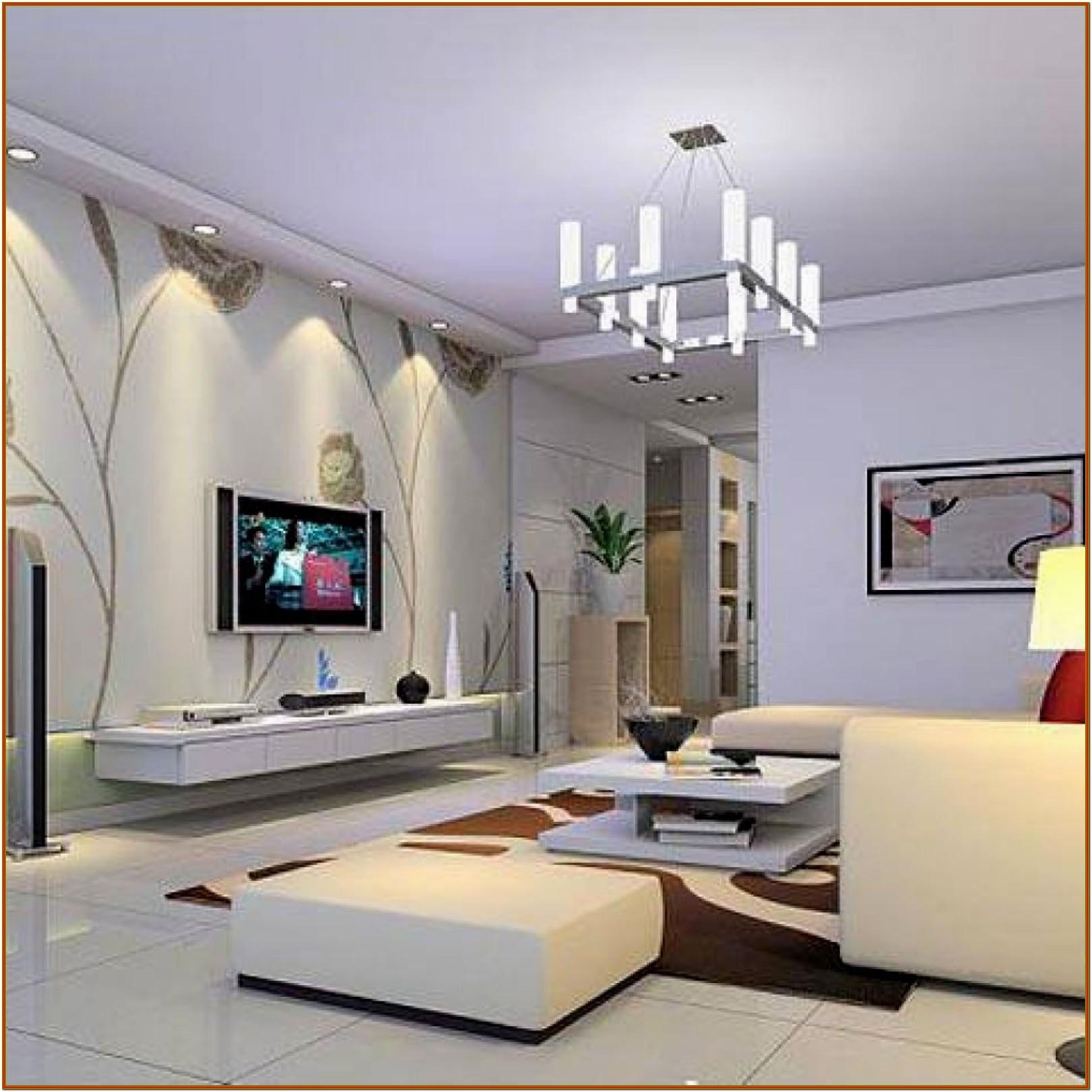 Small Apartment Modern Living Room Decoration