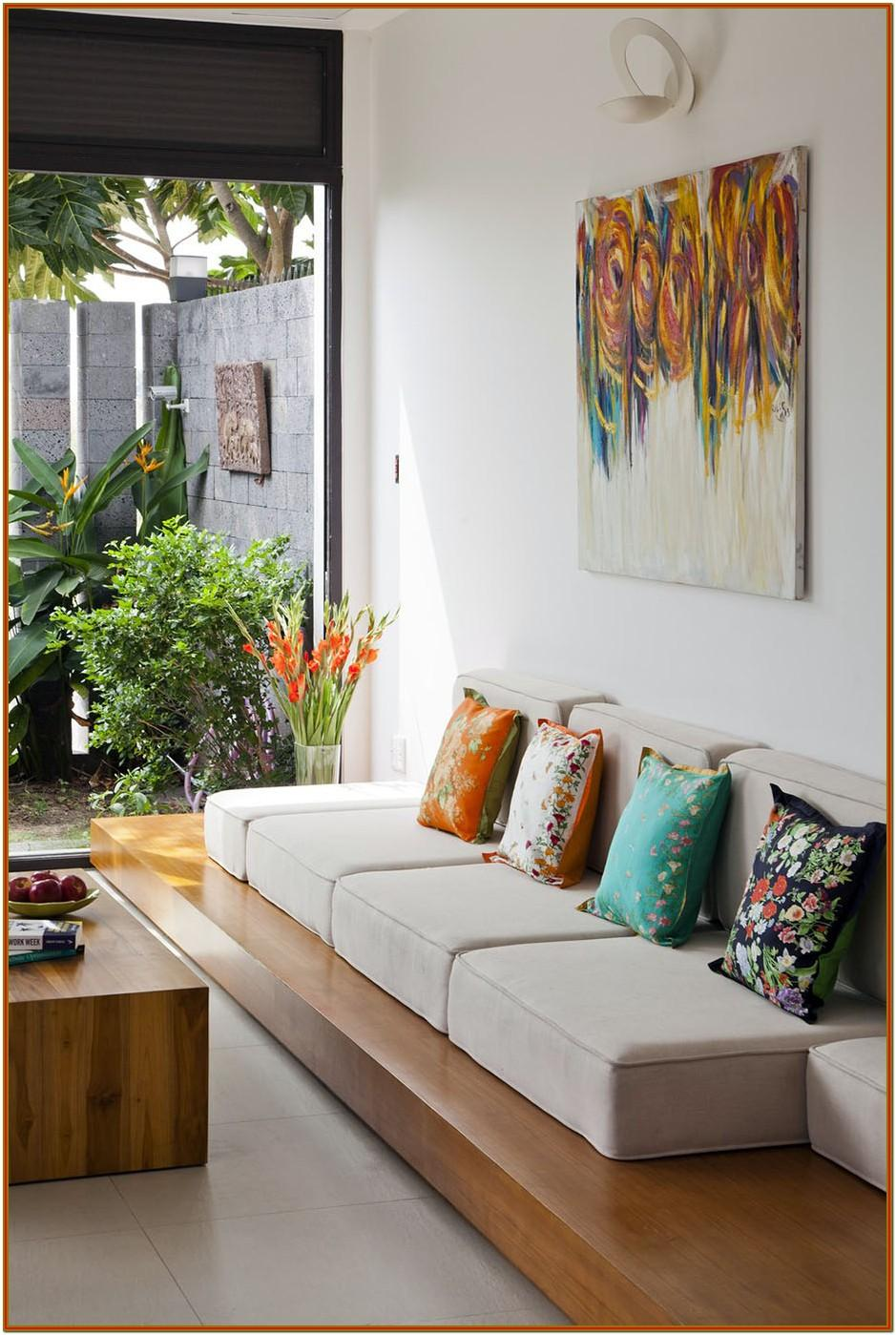 Small Living Room Decoration Indian Style