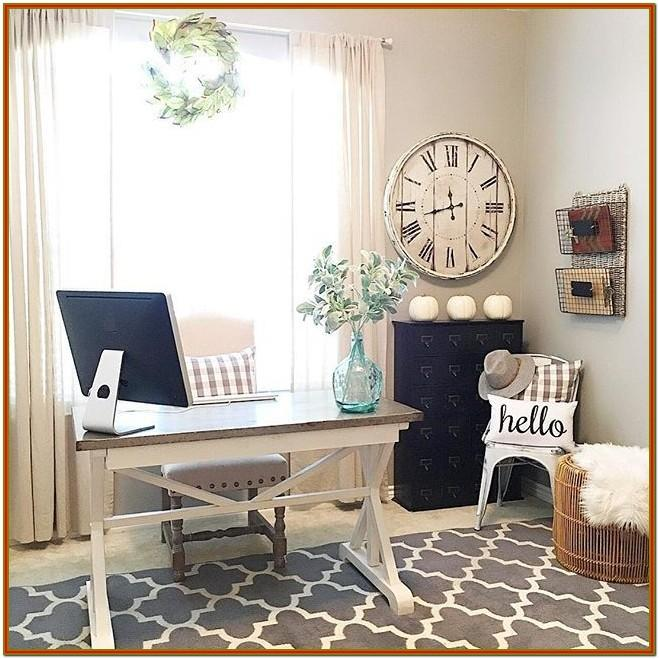 Small Living Room With Office Decorating Ideas