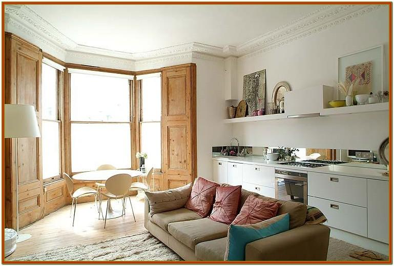 Small Open Plan Living Room Decorating Ideas