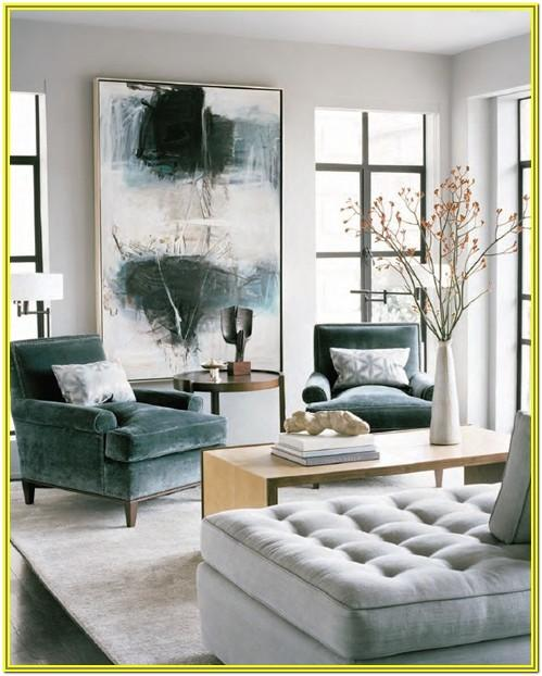 Teal And White Living Room Ideas