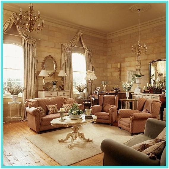 Traditionally Decorated Living Rooms