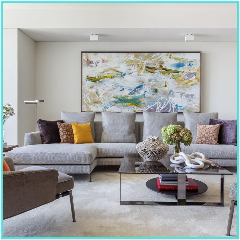 Transitional Style Living Room Decor 2019