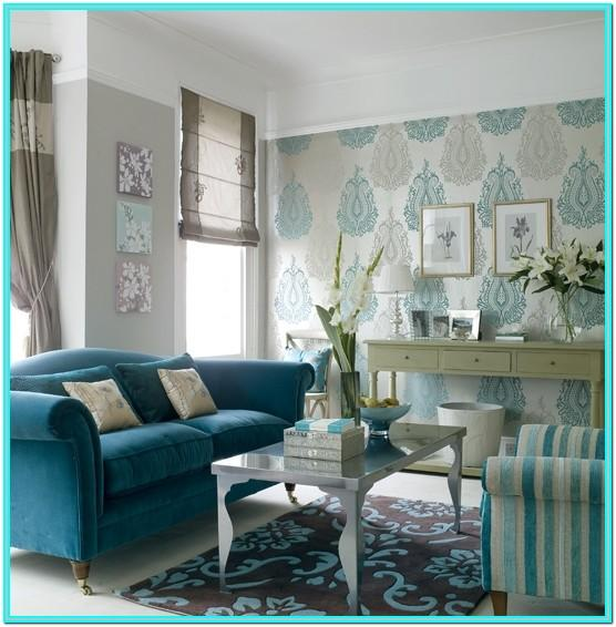 Turquoise Couch Living Room Decorations