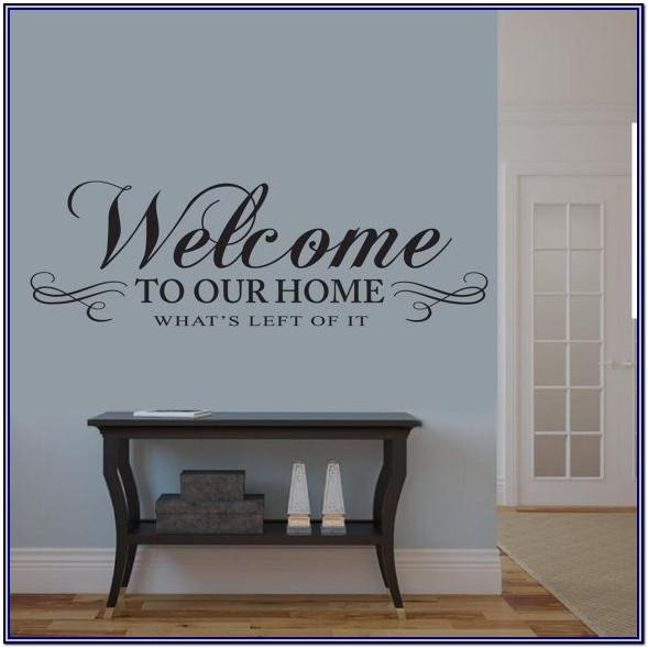 Wall Quote Signs Living Room Decor