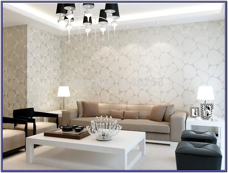 Wallpaper Decorations For Living Room