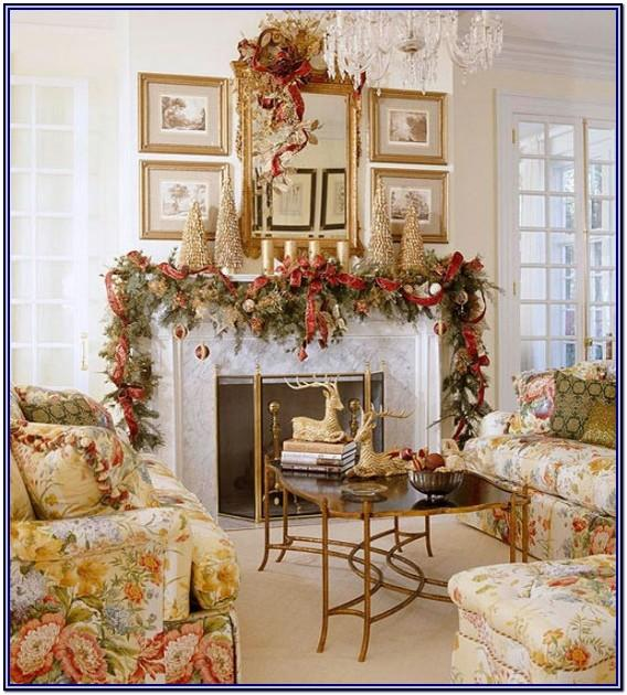 Ways To Decorate Living Room For Christmas