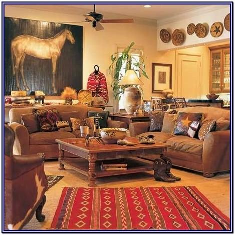 Western Style Western Decor Ideas For Living Room