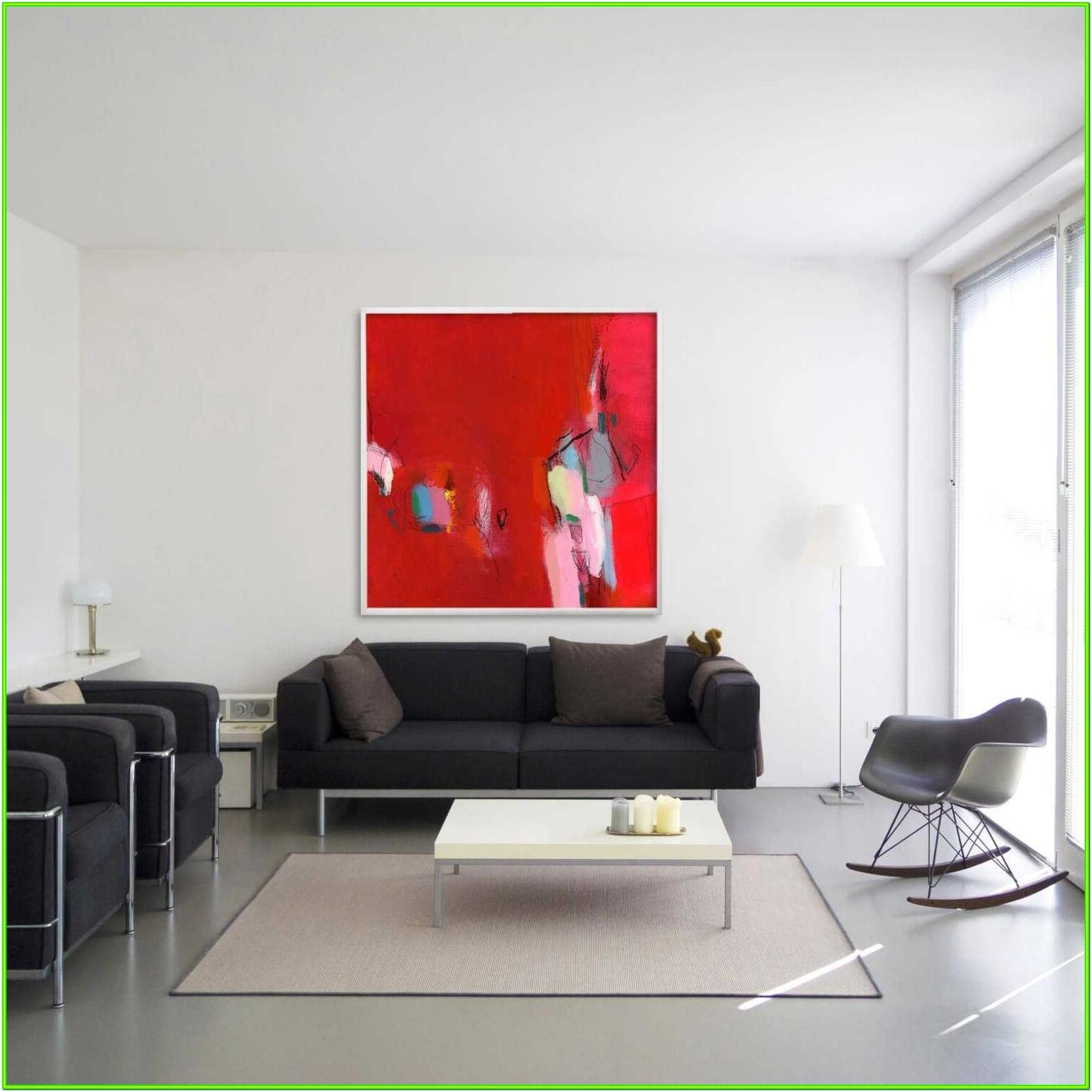 Abstract Living Room Ideas