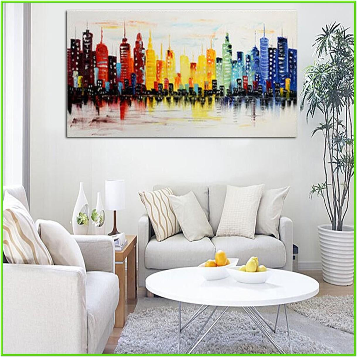 Abstract Wall Art Ideas For Living Room