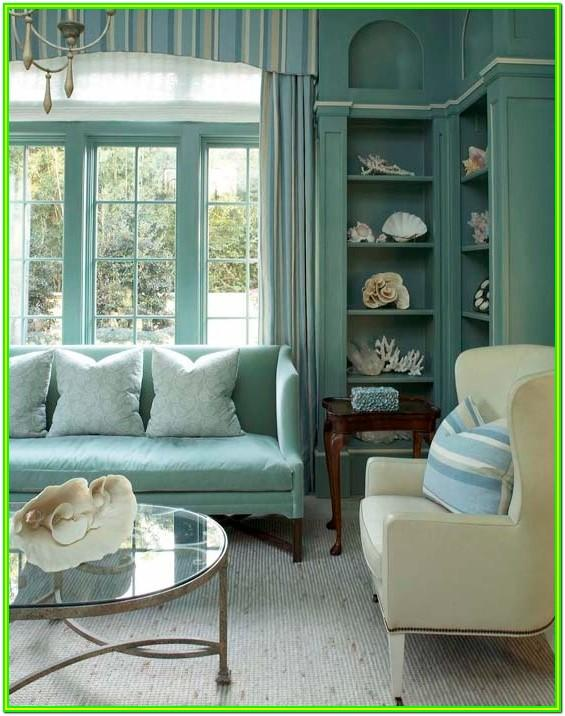 Aqua Blue Living Room Ideas