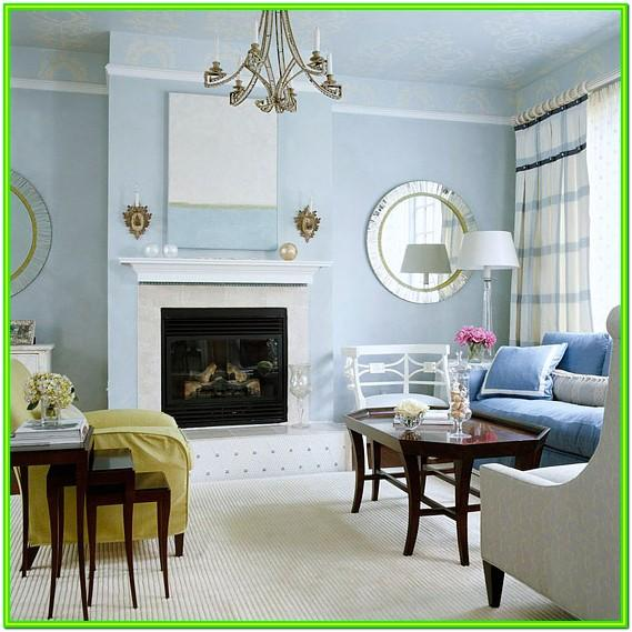 Baby Blue Living Room Ideas