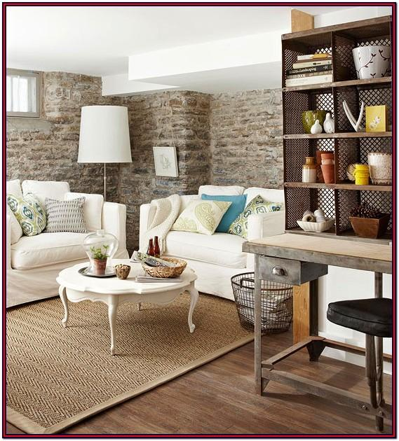 Basement Living Room Decorating Ideas