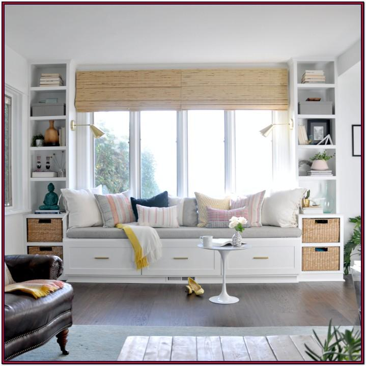 Bay Window Seat Ideas Living Room
