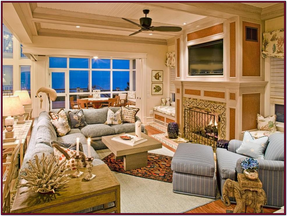 Beach House Living Room Design Ideas