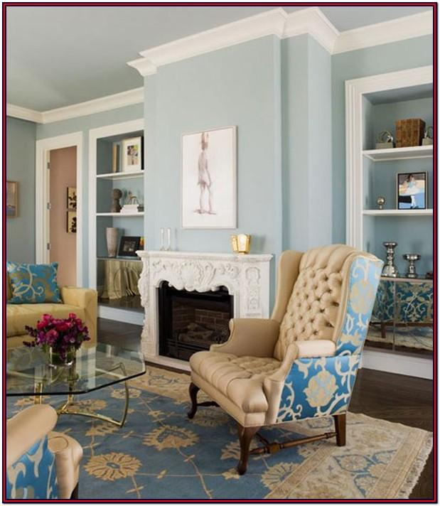 Beige And Blue Living Room Ideas