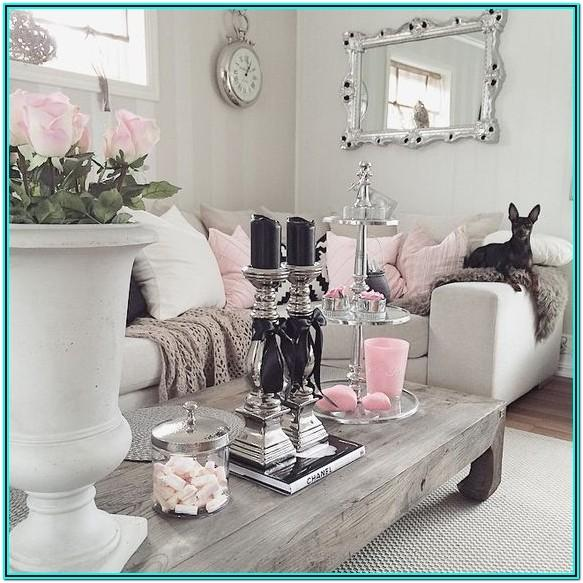 Black Pink And Gold Living Room Ideas