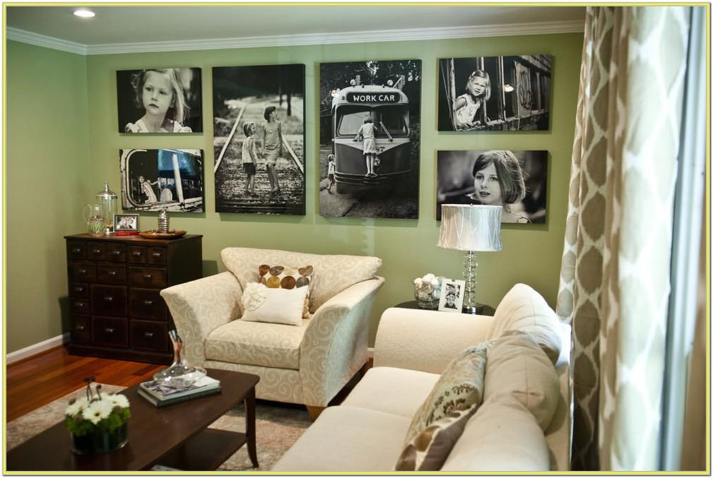 Blank Wall Ideas For Living Room