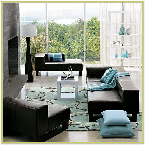 Blue And Black Living Room Ideas