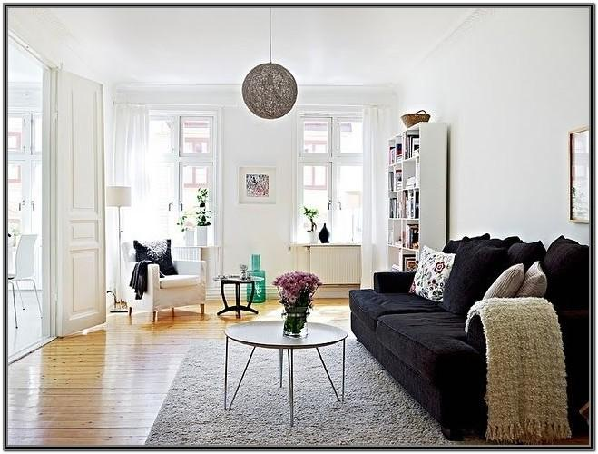 Bright Living Room Ideas With Dark Furniture