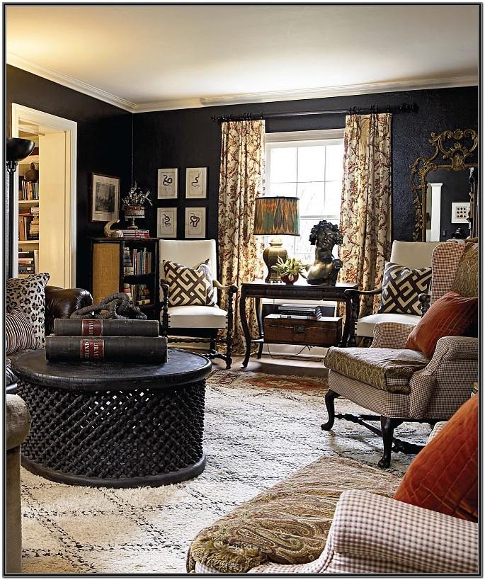 Brown And Black Living Room Ideas