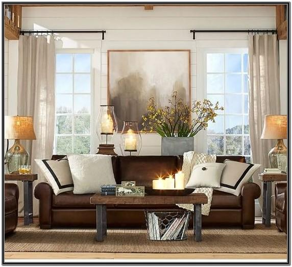 Brown Leather Suite Living Room Ideas