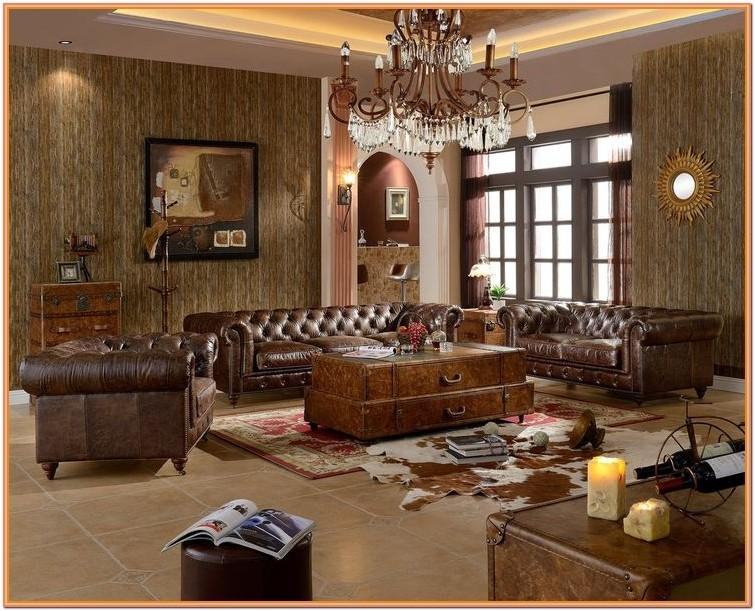 Chesterfield Sofa Living Room Design Ideas