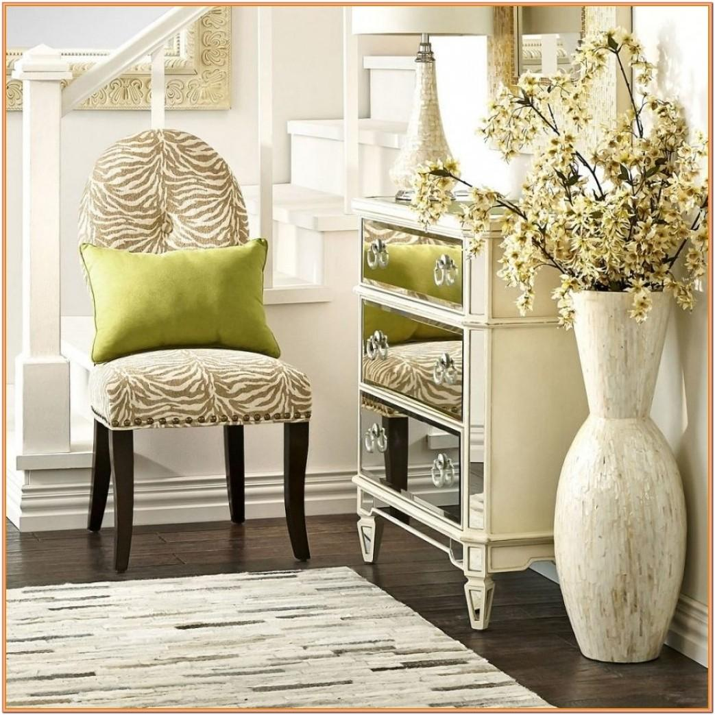 Chinese Floral Floor Vase Living Room Ideas