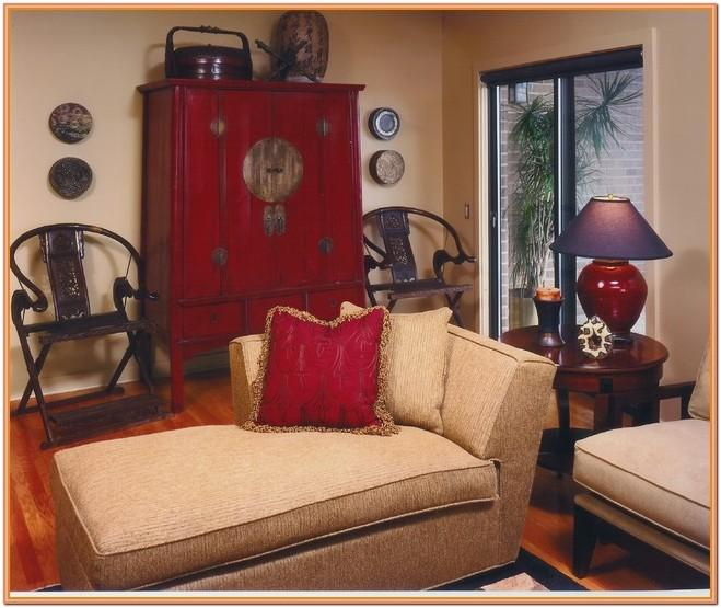 Chinese Red Living Room Ideas