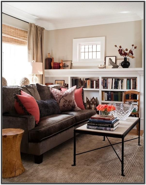 Chocolate Brown Couches Living Room Ideas