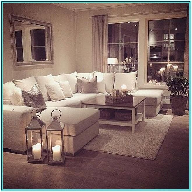 Cosy Living Room Ideas Brown Sofa