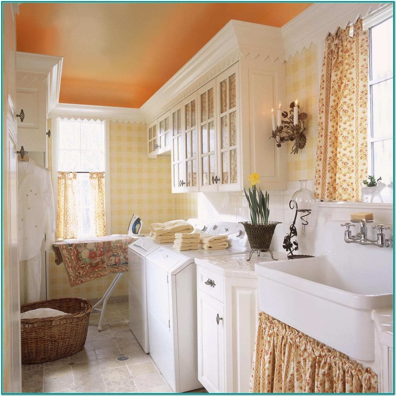 Country Living Laundry Room Ideas