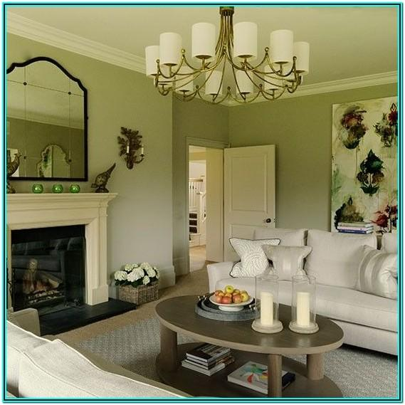 Country Living Room Sage Green Ideas