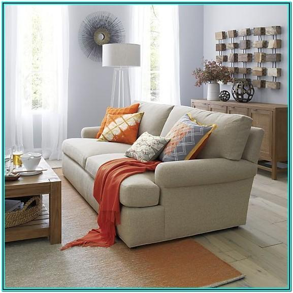 Crate And Barrelleather Living Room Ideas