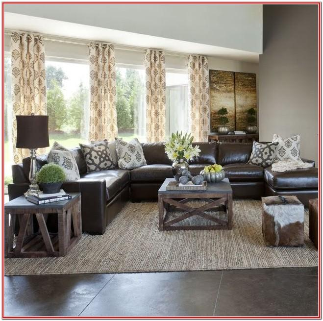 Dark Brown Couch Living Room Ideas