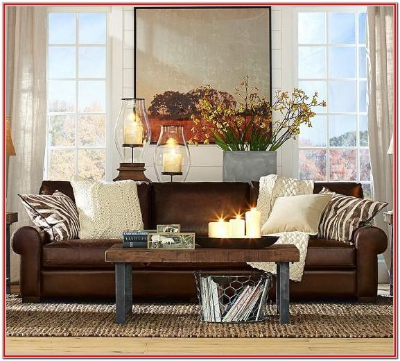 Dark Brown Leather Sofa Living Room Ideas