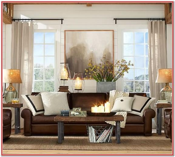 Dark Brown Sectional Living Room Ideas
