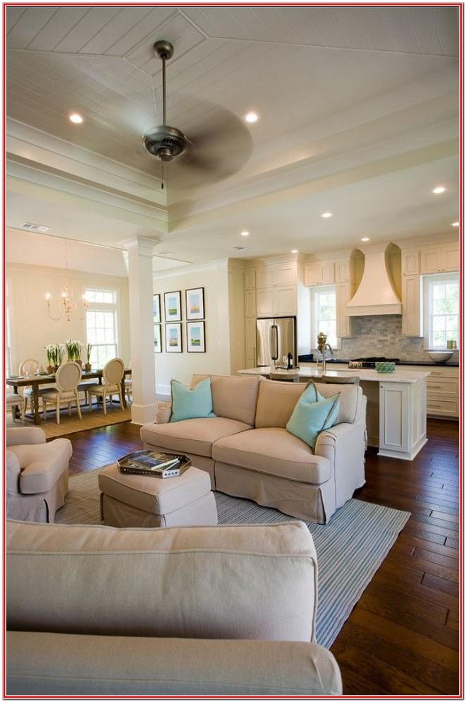 Design Ideas For Open Kitchen And Living Room