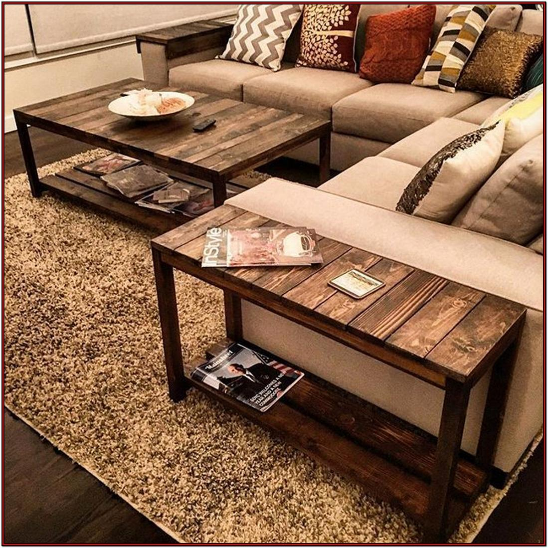 Diy Pallet Side Table Living Room Ideas