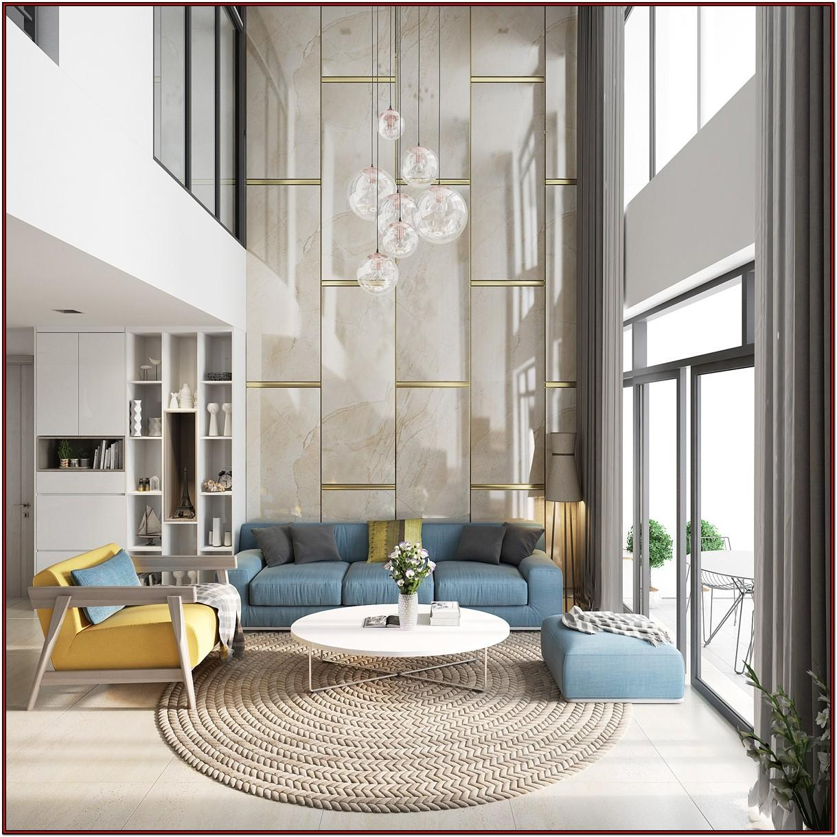 Double Height Living Room Ideas