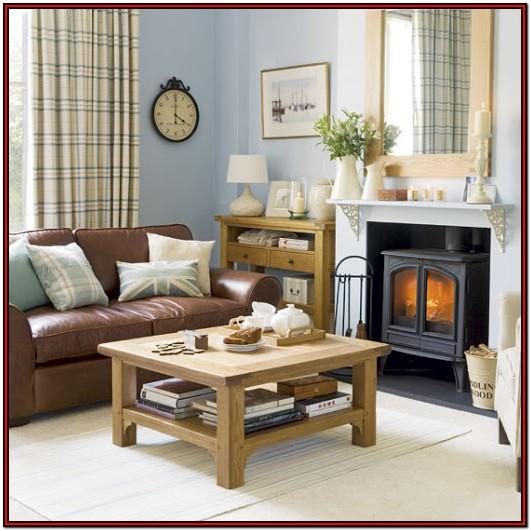 Duck Egg And Brown Living Room Ideas