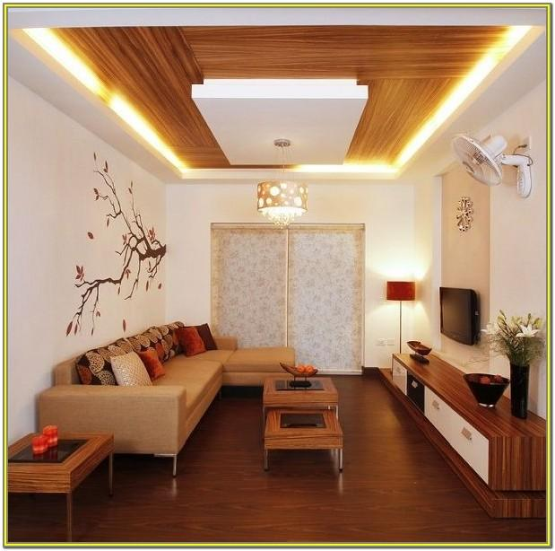 False Ceiling Ideas For Small Living Room