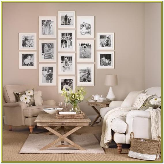 Family Picture Wall Ideas For Living Room