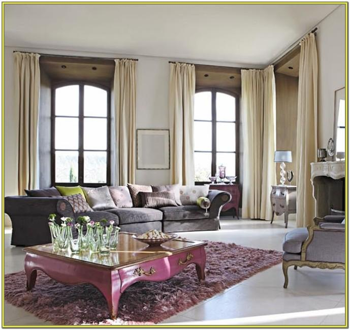 Fancy Living Room Curtains Ideas