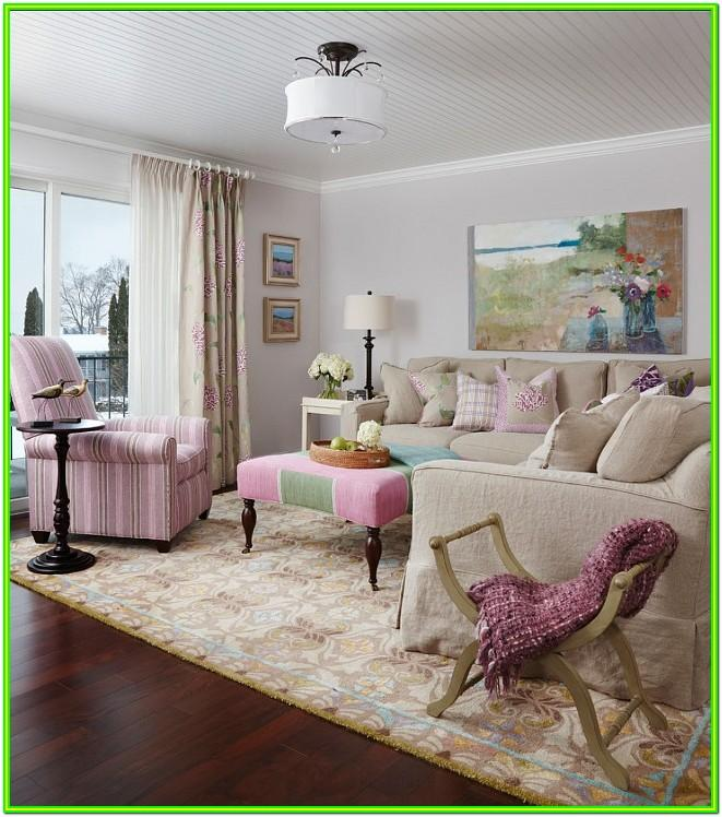 Feminine Farmhouse Living Room Ideas