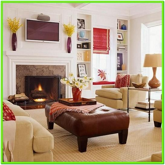 Fireplace In Odd Living Room Ideas