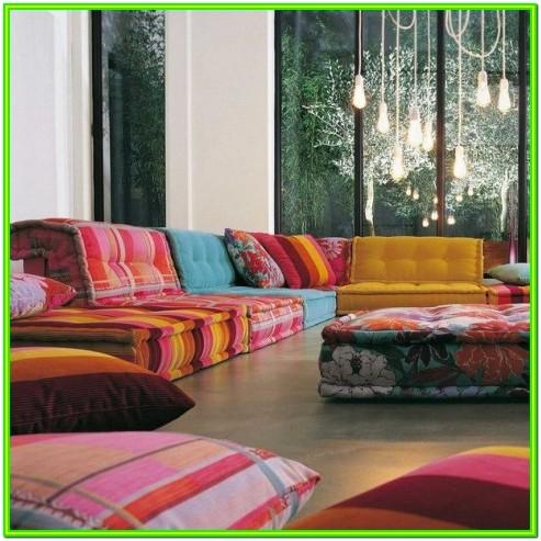 Floor Seating Living Room Seating Ideas Without Sofa