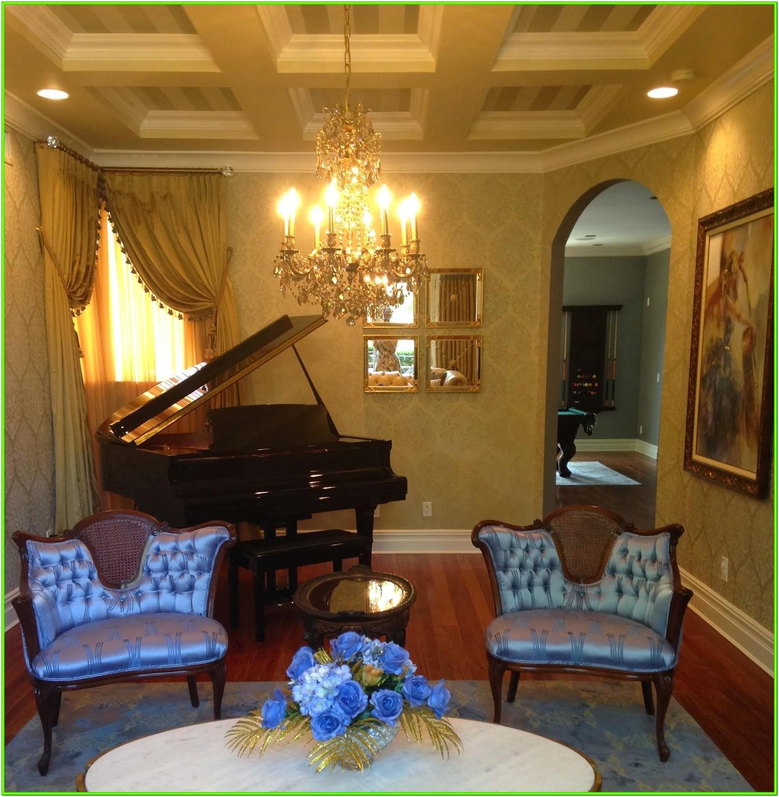 Formal Living Room With Grand Piano Ideas